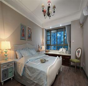 80平米三室两厅混搭风格卧室效果图