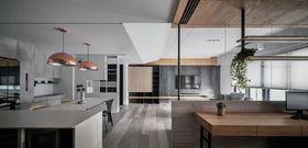 100平米三現代簡約風格廚房設計圖