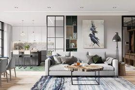 130平米四室两厅美式风格客厅装修效果图