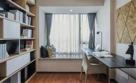 110平米三现代简约风格书房装修效果图