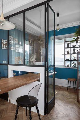 100平米三室三厅法式风格书房装修效果图