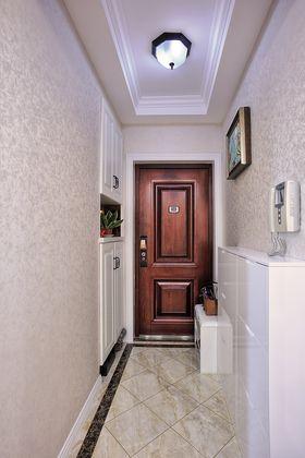 130平米三室两厅美式风格玄关图片