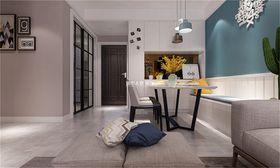 110平米四室两厅现代简约风格餐厅装修效果图