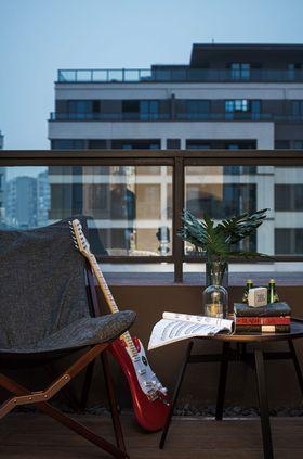 110平米四室两厅欧式风格阳台设计图