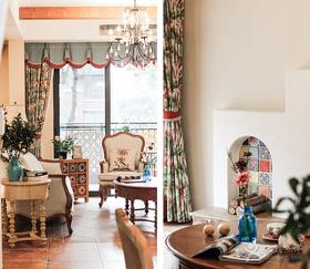 富裕型140平米三室两厅混搭风格餐厅装修效果图