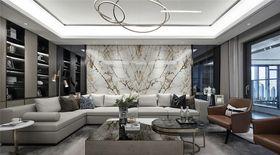 140平米四室两厅混搭风格客厅图片大全