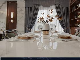140平米別墅中式風格餐廳圖片