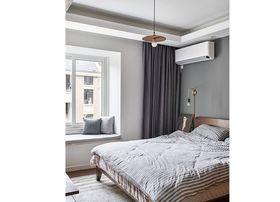 90平米三室两厅日式风格卧室装修效果图