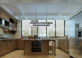 20万以上140平米三室三厅美式风格厨房设计图