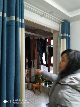 90平米三室两厅宜家风格阳台装修效果图
