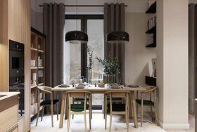 120平米现代简约风格餐厅装修案例