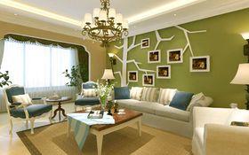 3-5万120平米一室一厅现代简约风格客厅装修案例
