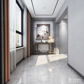 140平米別墅現代簡約風格樓梯間裝修圖片大全