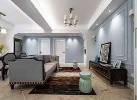 50平米美式风格客厅装修效果图