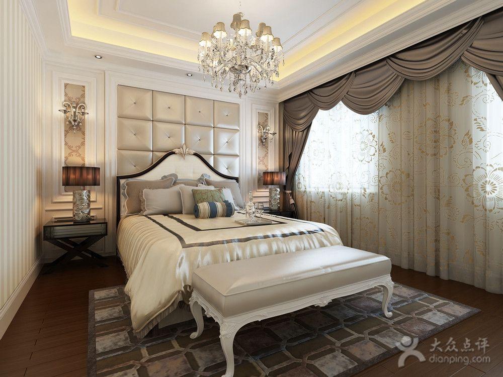 卧室是属于我们最私密的区域,卧室窗帘装饰尤为重要,安装的不好还会影响主人的睡眠,下面就是今天小编为大家准备的几款窗帘的装修,一起来看看吧。  一: 在欧式的装修风格中给我们的第一印象就是奢华,大气,在以前的设计中也是以这样的形式出现,为了迎合现代人多元化的挑选,在欧式风格的装修中出现了很多新的形式,在这种欧式的装修风格中我们要选择的就必须是淡雅清晰的窗帘,结合卧室的整体装修效果给我们的感觉才能更和谐。