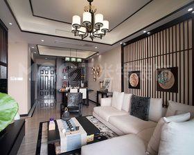 130平米新古典风格客厅图片大全