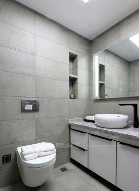 120平米三室一廳現代簡約風格衛生間設計圖