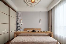 130平米三室两厅北欧风格卧室设计图