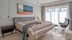 110平米三室一厅北欧风格卧室装修案例