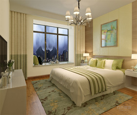 140平米四室两厅现代简约风格卧室图片