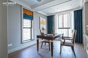 140平米四室两厅美式风格书房装修案例