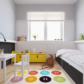 70平米复式日式风格儿童房设计图