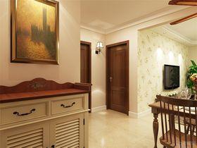 90平米三室一厅混搭风格走廊装修图片大全