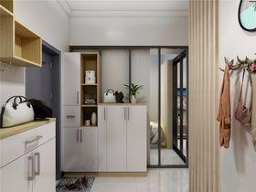 50平米小户型北欧风格玄关装修案例