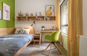 90平米三室两厅现代简约风格儿童房装修案例