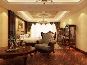 110平米美式风格卧室装修图片大全
