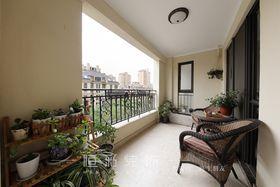 20万以上140平米四室两厅欧式风格阳台图片大全
