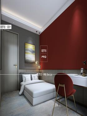 140平米现代简约风格卧室装修图片大全