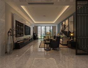 140平米三室两厅新古典风格餐厅图