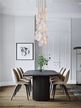 130平米三现代简约风格餐厅效果图
