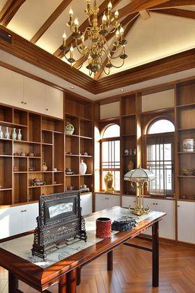 20万以上140平米别墅中式风格书房装修效果图