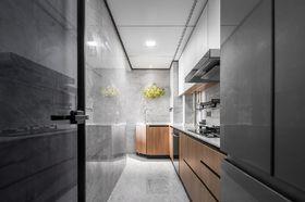 90平米三室兩廳現代簡約風格廚房圖片大全