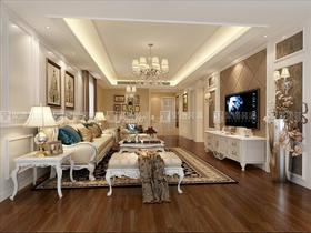 140平米四歐式風格客廳裝修圖片大全