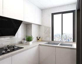 70平米一居室现代简约风格厨房图片大全