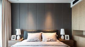豪华型140平米三室两厅北欧风格卧室图