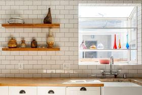90平米混搭風格廚房裝修案例