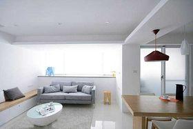 5-10万110平米三室两厅现代简约风格客厅装修图片大全