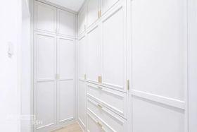 130平米三室三厅北欧风格衣帽间效果图