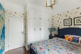 90平米三室两厅美式风格卧室装修图片大全