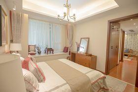 90平米三室两厅中式风格卧室欣赏图