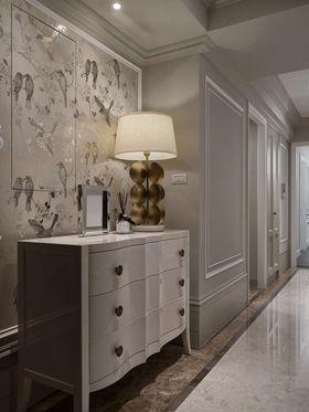 120平米三室一厅美式风格玄关效果图