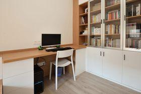 60平米日式风格书房图片