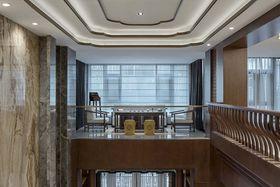 100平米中式风格阁楼设计图