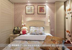 富裕型80平米三室两厅现代简约风格卧室装修案例