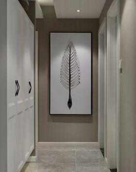 120平米三室一厅北欧风格玄关图片