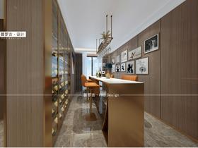 140平米现代简约风格餐厅装修图片大全